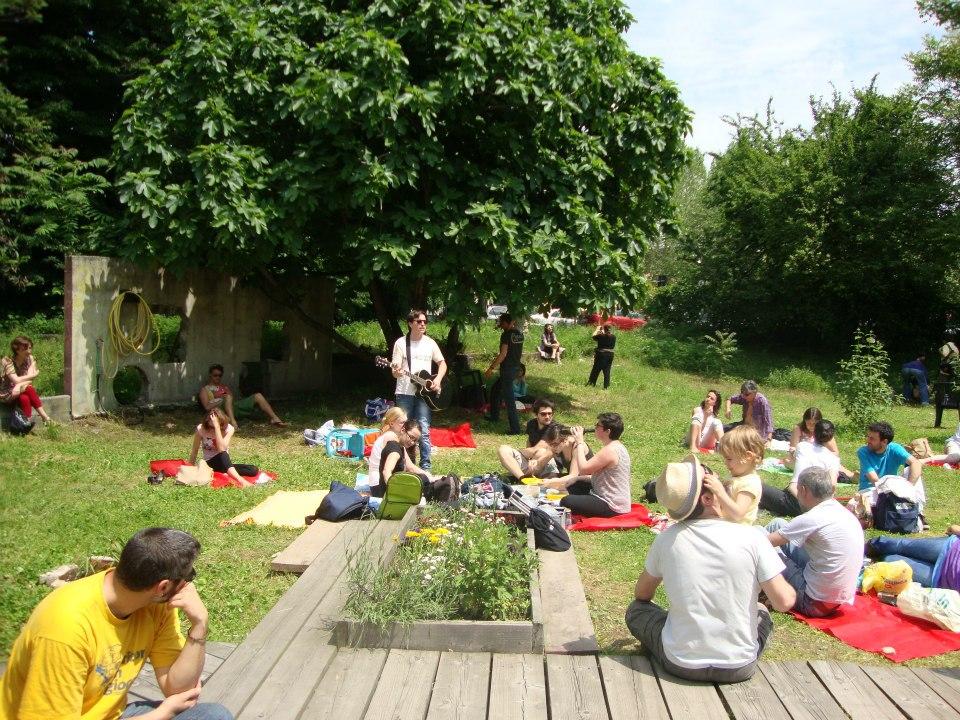 Giardini in transito. Il Giardino comunitario Lea Garofalo
