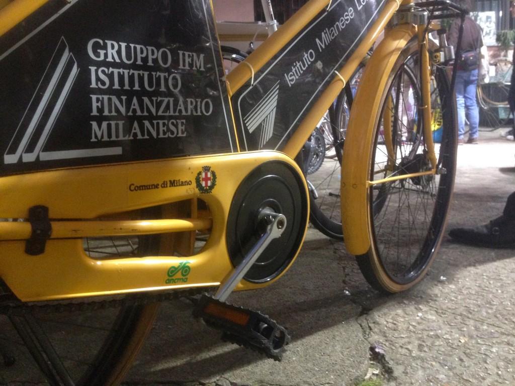 Il primo bike sharing di Milano