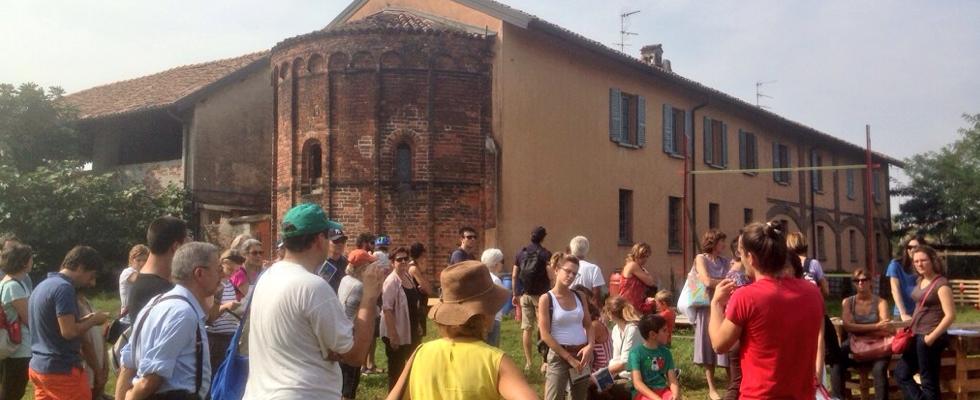 L'antica Cascina Sant'Ambrogio, in zona Forlanini-Ortica